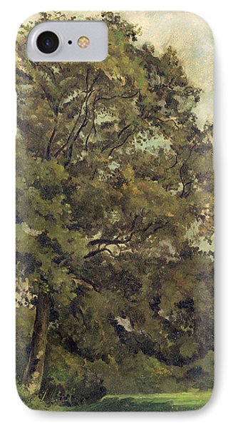 Study Of An Ash Tree Phone Case by Lionel Constable