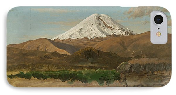 Study Of Mount Chimborazo Ecuador IPhone Case