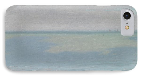 Study Of Sky And Sea IPhone Case by Herbert Dalziel
