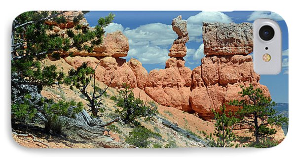 IPhone Case featuring the photograph Stunning Bryce Canyon National Park Backcountry by Bruce Gourley