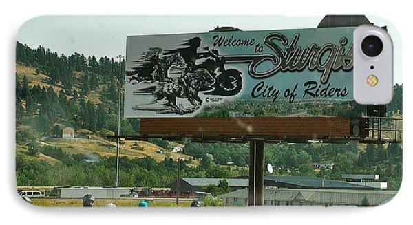 Sturgis City Of Riders IPhone Case