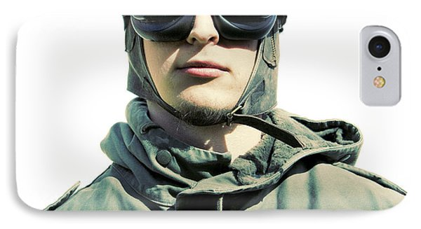 Stylised Squadron Captain IPhone Case by Jorgo Photography - Wall Art Gallery