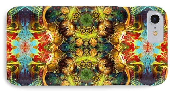 Subconscious Sacred Scrolls IPhone Case by Georgiana Romanovna