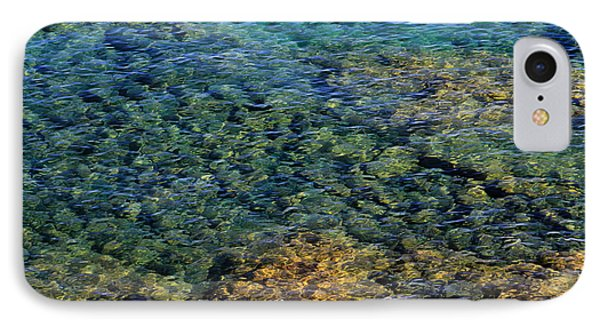 Submerged Rocks At Lake Superior IPhone Case