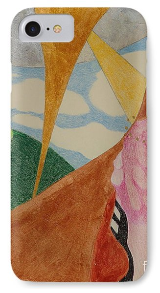 IPhone Case featuring the drawing Subteranian  by Rod Ismay