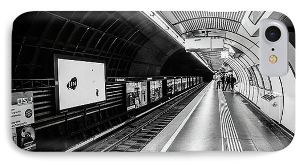 Subway In Vienna IPhone Case by Lisa Lemmons-Powers