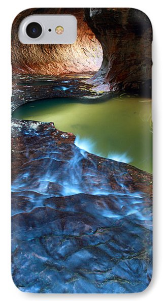 Subway In Zion National Park Utah Phone Case by Pierre Leclerc Photography