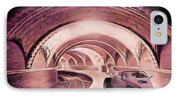IPhone Case featuring the photograph Subway Racer by Michael Cleere