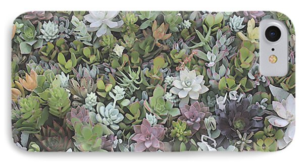 Succulent 8 IPhone Case by David Hansen