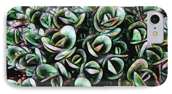 IPhone Case featuring the photograph Succulent Fantasy by Ann Powell