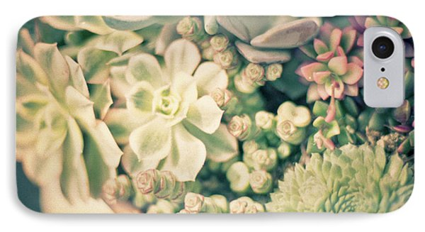 IPhone Case featuring the photograph Succulent Garden by Ana V Ramirez