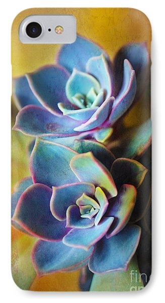 Succulents IPhone Case by Judi Bagwell