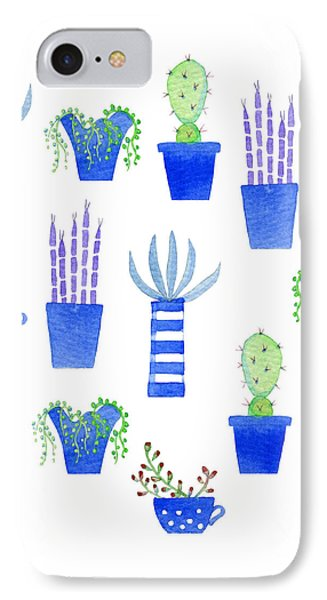 Succulents IPhone Case