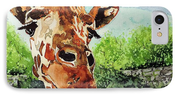 Such A Sweet Face IPhone Case by Tom Riggs
