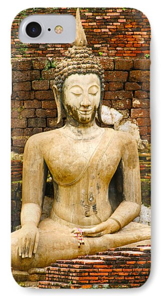 Sucuthai Buddha IPhone Case by Rob Tullis