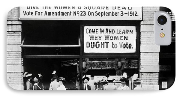 Suffrage Headquarters Phone Case by Granger