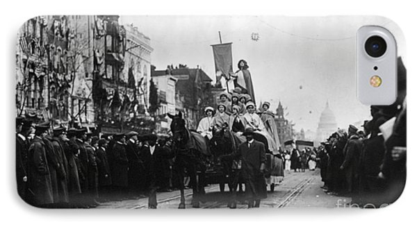 Suffrage Parade, 1913 Phone Case by Granger