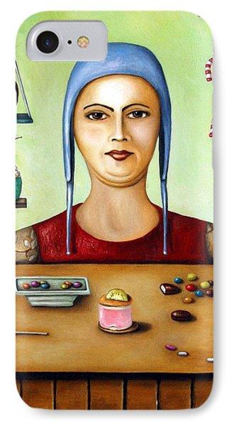 Sugar Addict Phone Case by Leah Saulnier The Painting Maniac