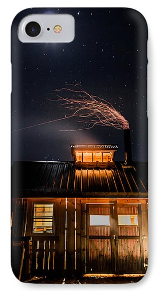 Sugar House At Night IPhone Case by Tim Kirchoff