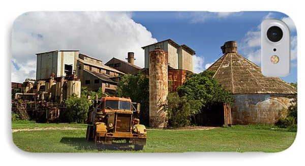 Sugar Mill And Truck IPhone Case by Roger Mullenhour