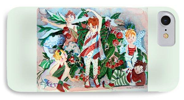 Sugar Plum Fairies IPhone Case by Mindy Newman