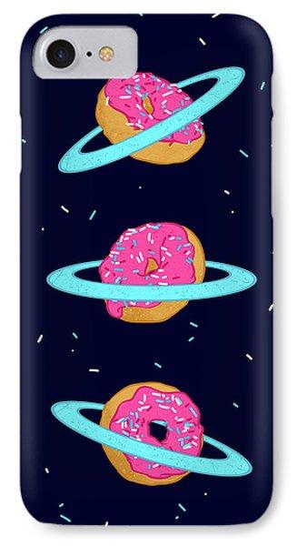 Sugar Rings Of Saturn IPhone Case