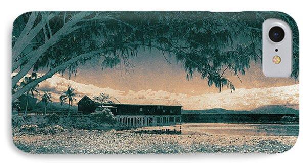 Far North Queensland iPhone 7 Case - Sugar Wharf by Mel Brackstone