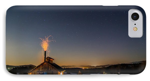 Sugaring View With Stars IPhone Case by Tim Kirchoff