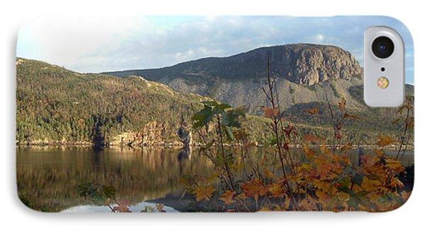 IPhone Case featuring the photograph Sugarloaf Hill In Autumn by Barbara Griffin