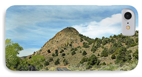 IPhone Case featuring the photograph Sugarloaf Mountain In Six Mile Canyon by Benanne Stiens