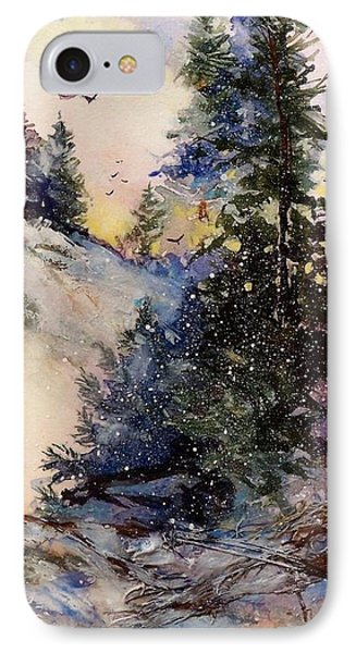 Sugarpines IPhone Case by Helen Harris