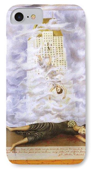 Suicide Of Dorothy Hale IPhone Case by Frida Kahlo