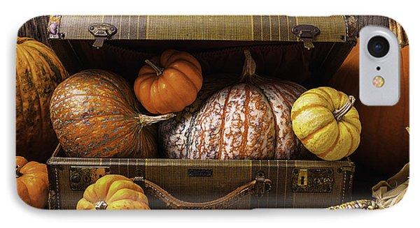 Suitcase Full Of Pumpkins IPhone Case