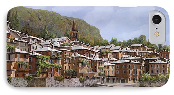 Sul Lago Di Como Phone Case by Guido Borelli