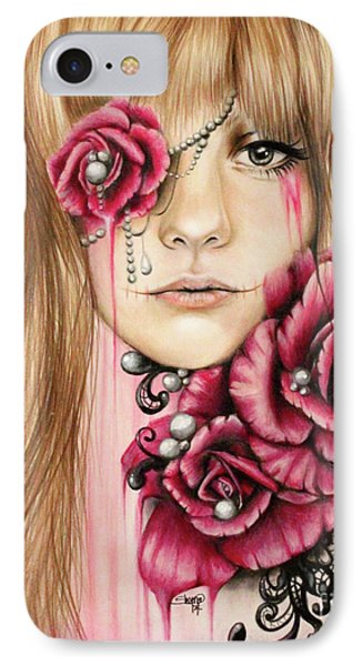 Sullenly Sweet  IPhone Case by Sheena Pike