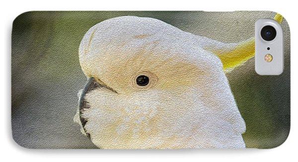 Sulphur Crested Cockatoo Phone Case by Avalon Fine Art Photography