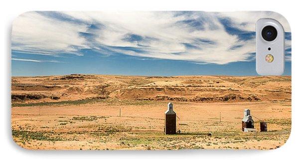 Sulphur Grain Elevators IPhone Case by Todd Klassy