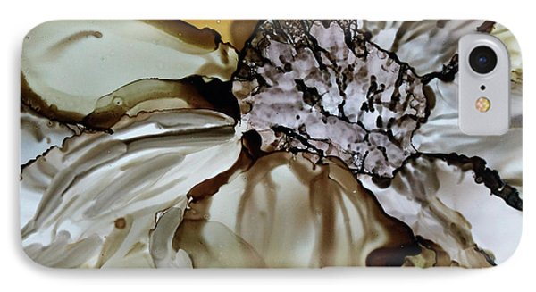 IPhone Case featuring the painting Sultry Petals by Joanne Smoley