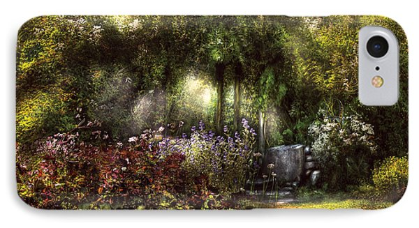 Summer - Landscape - Eve's Garden Phone Case by Mike Savad