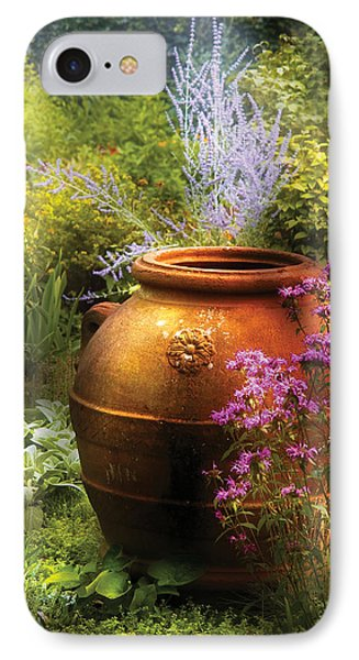 Summer - Landscape - The Urn Phone Case by Mike Savad