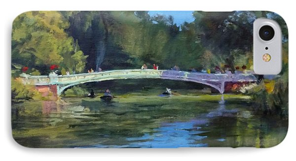 Summer Afternoon On The Lake, Central Park IPhone Case