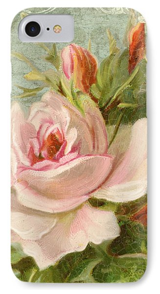 Summer At Cape May - Porch Roses IPhone Case by Audrey Jeanne Roberts