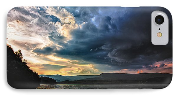 Summer At Lake James IPhone Case by Robert Loe
