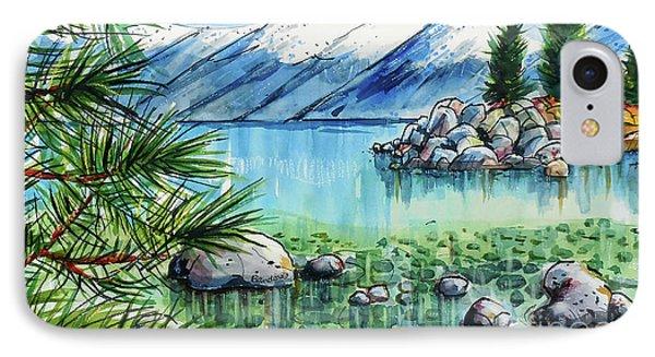 Summer At Lake Tahoe IPhone Case