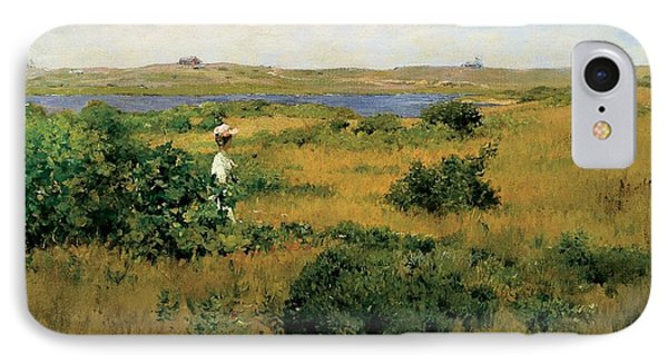 Summer At Shinnecock Hills Phone Case by William Merritt Chase