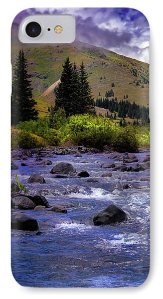 IPhone Case featuring the photograph Summer At The Animas River by Ellen Heaverlo