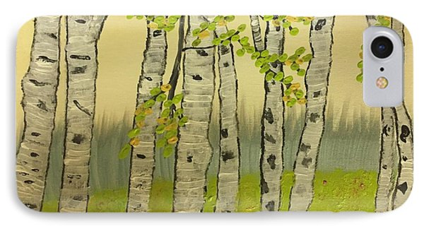 Summer Birches IPhone Case