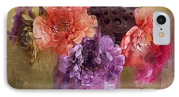 IPhone Case featuring the digital art Summer Bouquet by Alexis Rotella