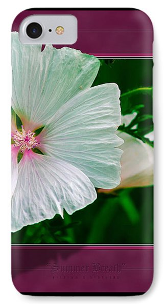 Summer Breath IPhone Case by Rick Bartrand