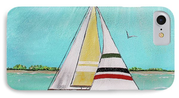 IPhone Case featuring the painting Summer Breeze-d by Jean Plout